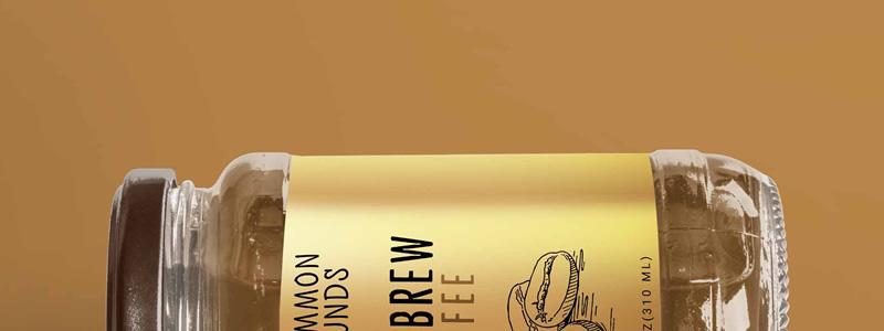 Etichette per barattoli l'immagine del brand a portata di mano