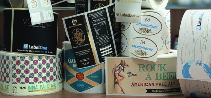Etichette adesive: personalizzate anche nella stampa