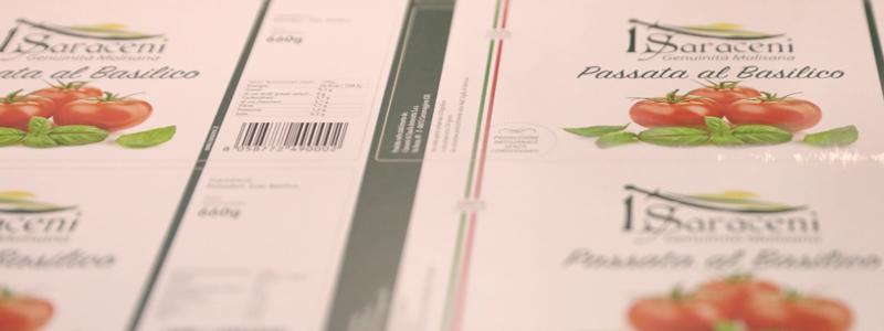 Etichette alimenti: la qualità di stampa migliora l'esperienza con il prodotto