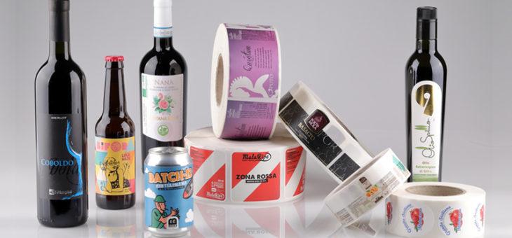 Etichette adesive a confronto: vino, birra, olio, marmellate e miele