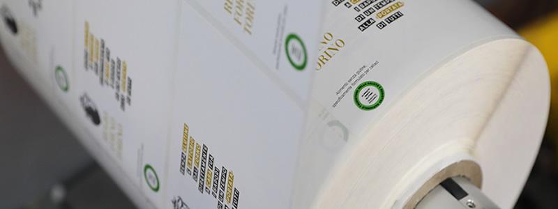 Attenzione alle etichette in bobina