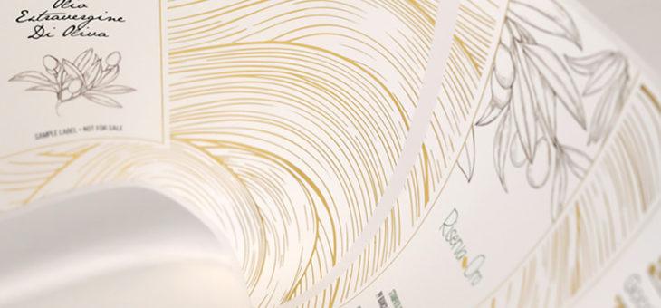 Etichette adesive: stampa e grafica nella stessa direzione