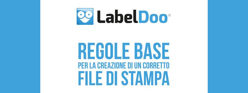 Grafica delle etichette adesive personalizzate: alcuni consigli