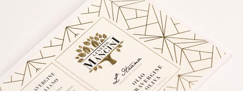 Etichette olio: design classici ed eleganti
