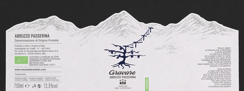 Etichette vino: profili naturali e di estrema precisione