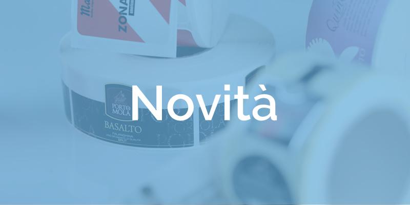 Etichette adesive: le novità nel nostro configuratore online