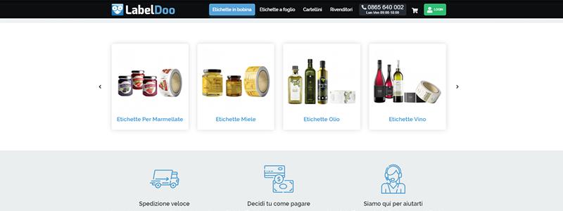 Sempre più aziende scelgono di stampare le etichette per alimenti online