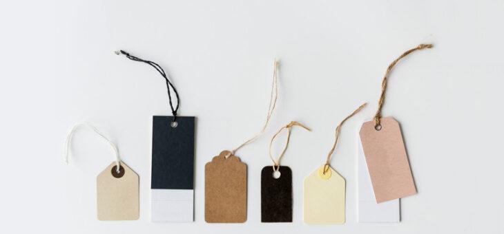 Cartellini, quanto conta personalizzarli