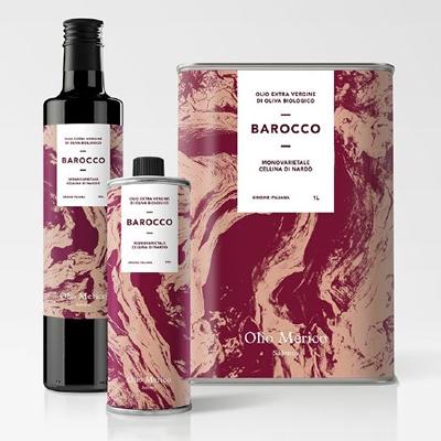 Etichette olio Barocco